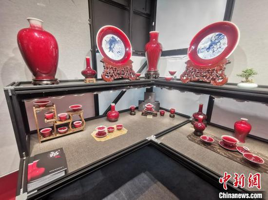 International ceramic fair opens in China's 'porcelain capital'