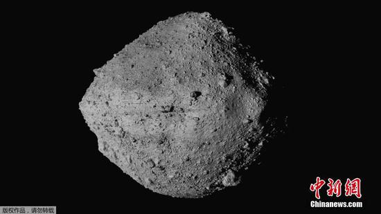 NASA mission touches down on asteroid Bennu to collect sample