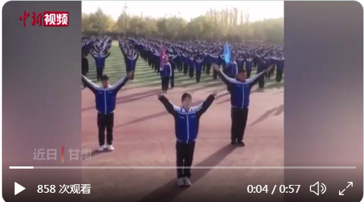 Video of students dancing like wall paintings of the Mogao Grottoes goes viral