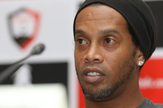 Ronaldinho tests positive for coronavirus