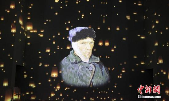 Van Gogh 'immersive experience' exhibition held in Belgium
