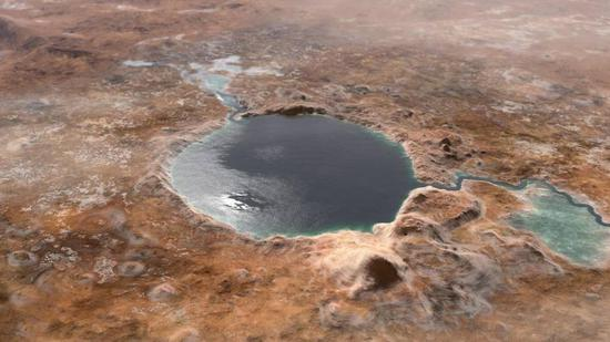 Landing site of Mars Perseverance rover was a Lake in Mars' ancient past