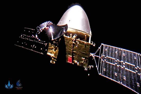 中国的火星探测距离地球超过1亿公里