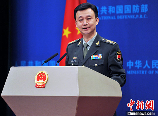 解放军重申维护国家主权和领土完整的能力