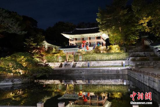 Changdeokgung Palace introduces moonlight tour in Seoul