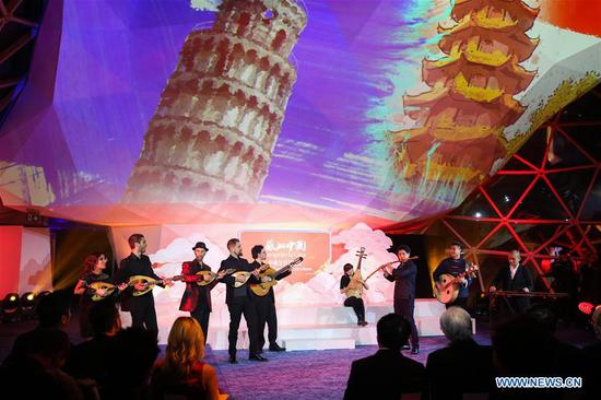 Online performances to celebrate China-Italy ties