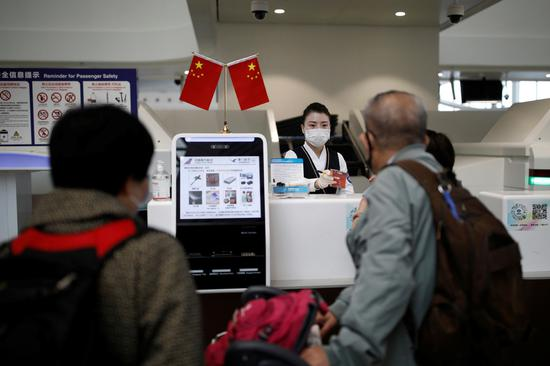 Fast food deliveries to Daxing airport gates