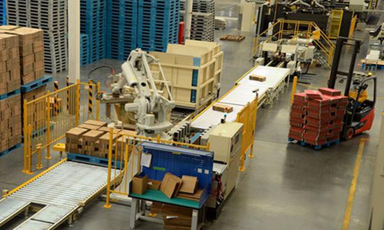 Millions watch live feed of parcel-sorting robots