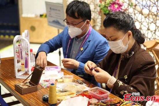 Traditional Chinese culture showcased at 3rd CIIE