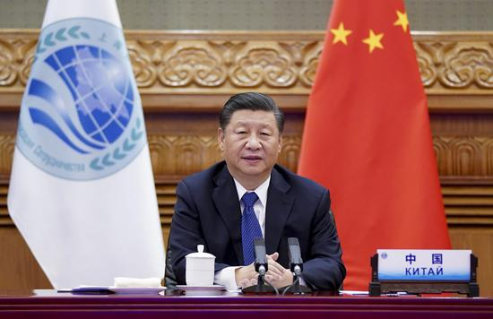 Xi offers China's approach for SCO to overcome challenges amid pandemic