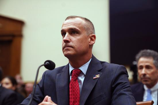 Corey Lewandowski, campaign manager for U.S. President Donald Trump, testifies before the U.S. House Judiciary Committee on Capitol Hill in Washington D.C., the United States, on Sept. 17, 2019. (Xinhua/Liu Jie)