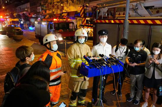 Flat fire in Yau Ma Tei put out, at least 7 dead and several others injured