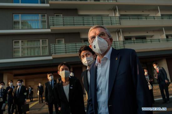 国际奥委会主席巴赫鼓励参加奥运会的运动员接种疫苗