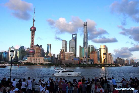 """上海被评为世界""""最智慧的城市"""""""