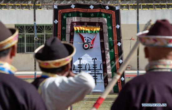 Tibet's Nyingchi holds archery competition to celebrate Gongbo New Year