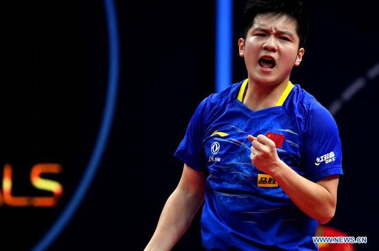 China's Fan, Ma to contend for ITTF Finals glory