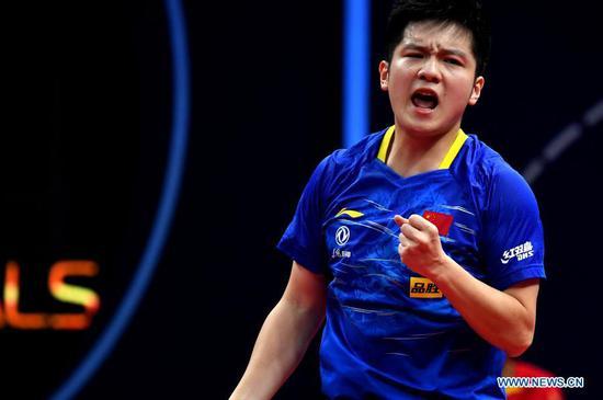 水果机球迷马争夺国际乒联总决赛的荣耀