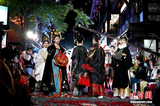 2020 Hanfu festival celebrated in Chengdu