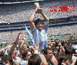 阿根廷足球传奇人物马拉多纳的生平时间表