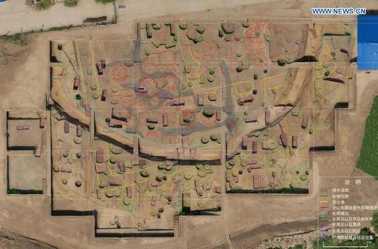 4,000-yr-old granaries found in central China