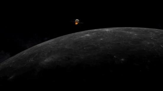 China's Chang'e-5 probe enters lunar orbit