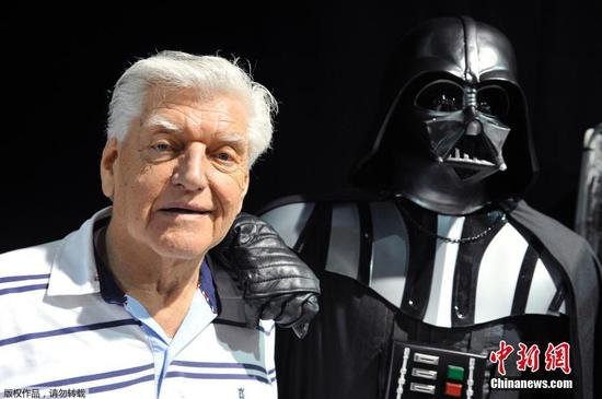 Dave Prowse, actor for Star Wars, dies at 85
