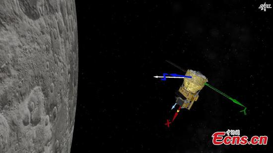 China's Chang'e-5 probe performs successful braking for second time