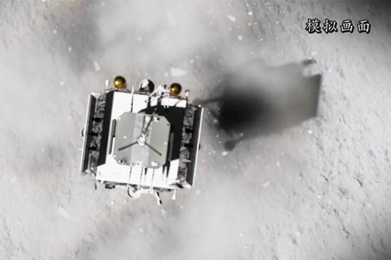 中国的e娥五号登陆月球