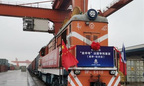 中国表示与欧盟的贸易额显示出双边经济关系的弹性