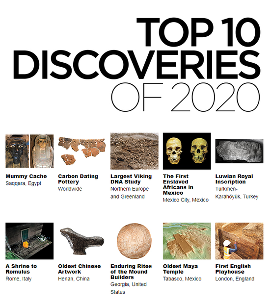 China's oldest carving artwork among world's top 10 discoveries of 2020