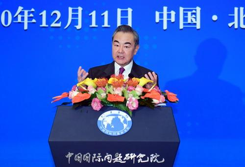 """王毅在2020年外交上的立场:中国反对全球肆虐的任何""""政治病毒"""""""