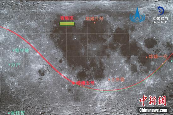 e娥五号返回轨道器完成轨道机动以准备返回
