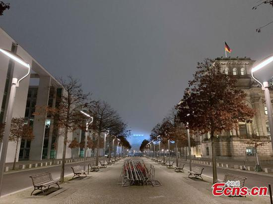 Germany to go into hard lockdown from Dec. 16 to Jan. 10