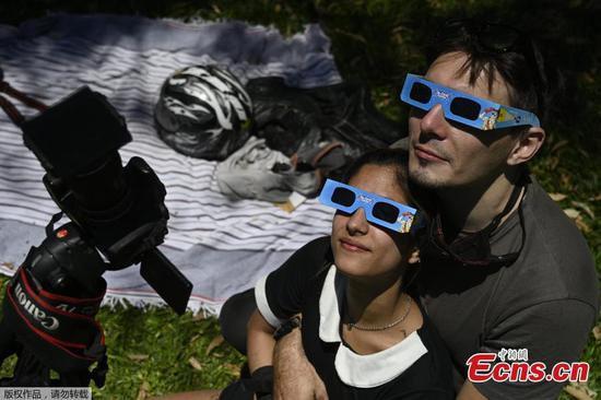Only total solar eclipse of 2020 thrills sky gazers in South America