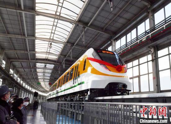 中国开发新型中低速磁悬浮列车