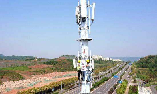 中国推出了718,000个5G基站,互联网连接延伸至偏远地区