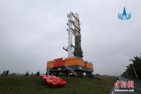 中国准备发射长征八号Y1火箭