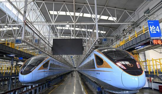 新子弹头列车将在中国西北部投入服务