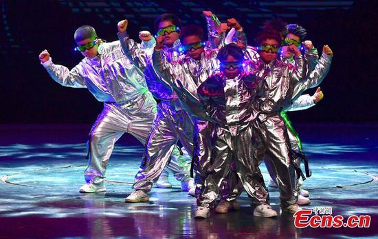 5th Cross-Strait Hip-hop dance final held in Fuzhou