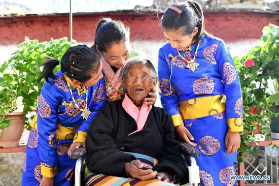 Average life expectancy in Tibet rises to 70.6