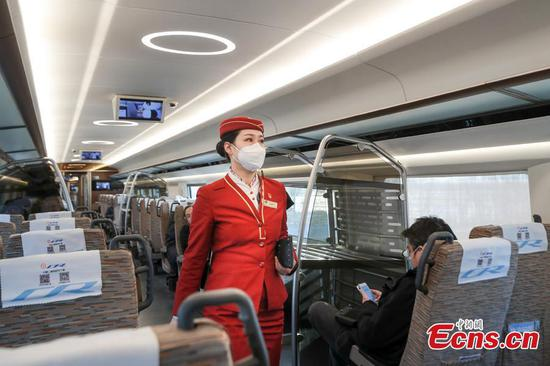 Beijing-Xiongan intercity railway enters final stage of trial run