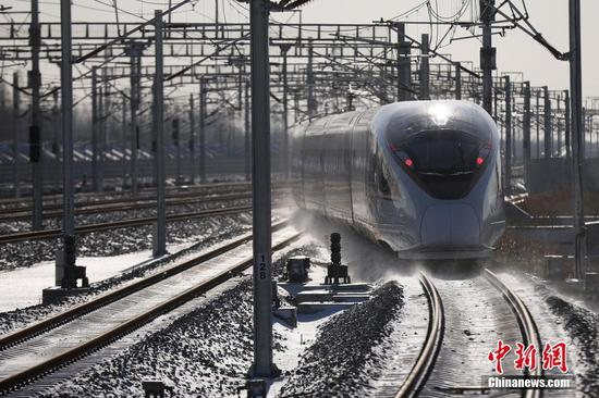 Yancheng-Nantong high-speed railway open to traffic