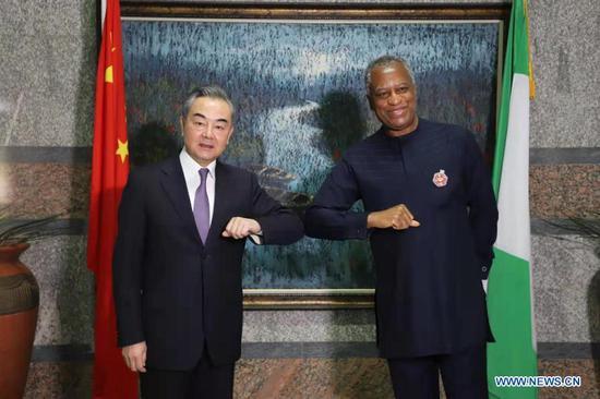 中国与尼日利亚就深化双边合作达成7项共识