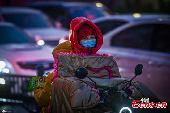 Cold front brings lowest temperature this winter