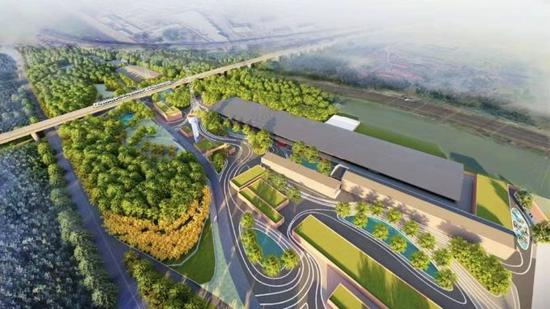 Beijing Winter Olympic park to be completed by September of 2021