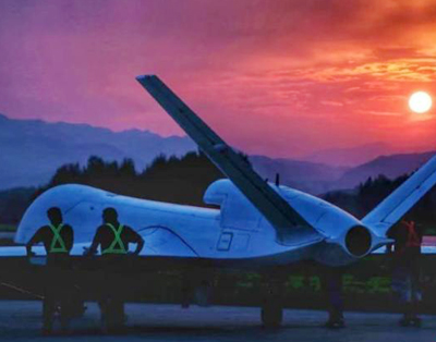 China's WJ-700 UAV completes maiden flight