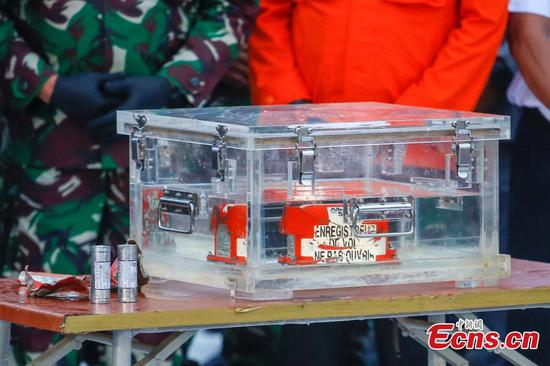 Black box of Indonesia's crashed plane retrieved