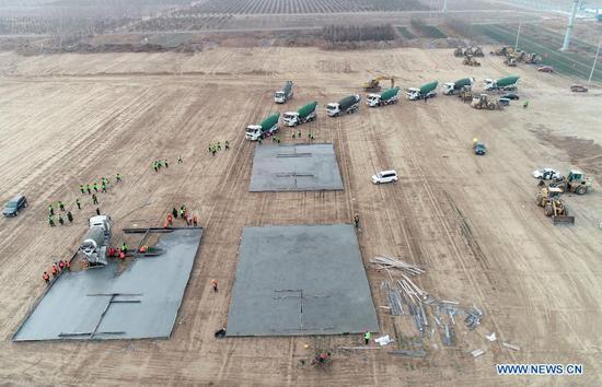 Shijiazhuang begins to construct centralized medical observation center