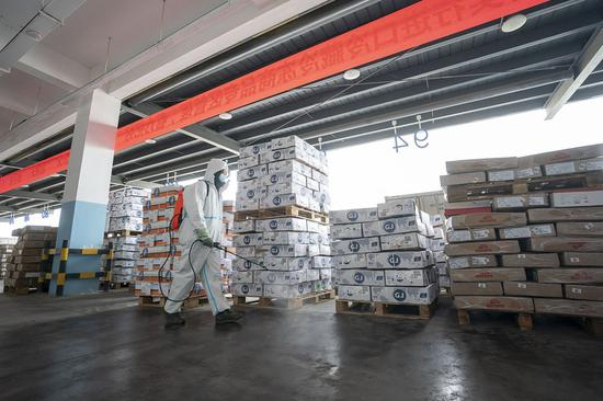 China to step up inspections of cold-chain products