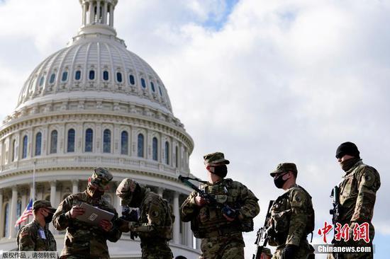 华盛顿为拜登就职典礼加强了防御